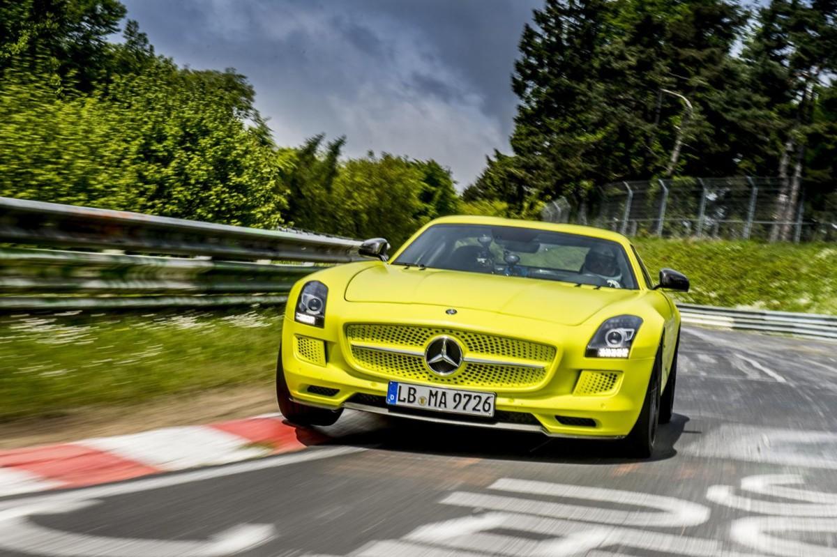 Mercedes piensa en un sucesor del SLS AMG Electric Drive
