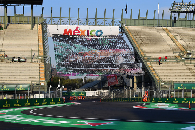 GP MÉXICO F1 - cover