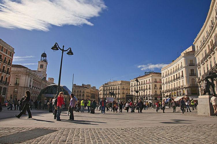 Ningún coche podrá entrar en la Puerta del Sol de Madrid