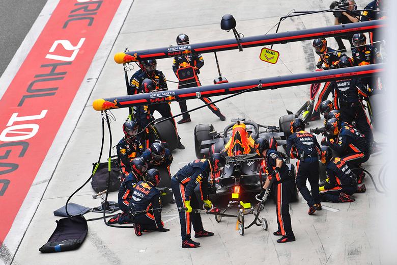 Red Bull sigue al frente del Mundial de Paradas tras el GP de China 2019