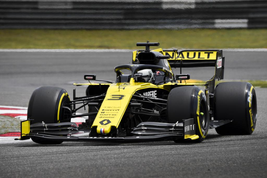Renault en el GP de China F1 2019: Domingo