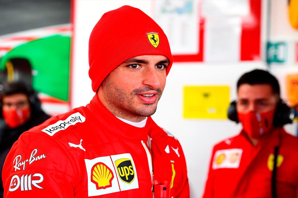 """Sainz firma 118 vueltas en su debut con Ferrari: """"Nunca voy a olvidar este día"""""""