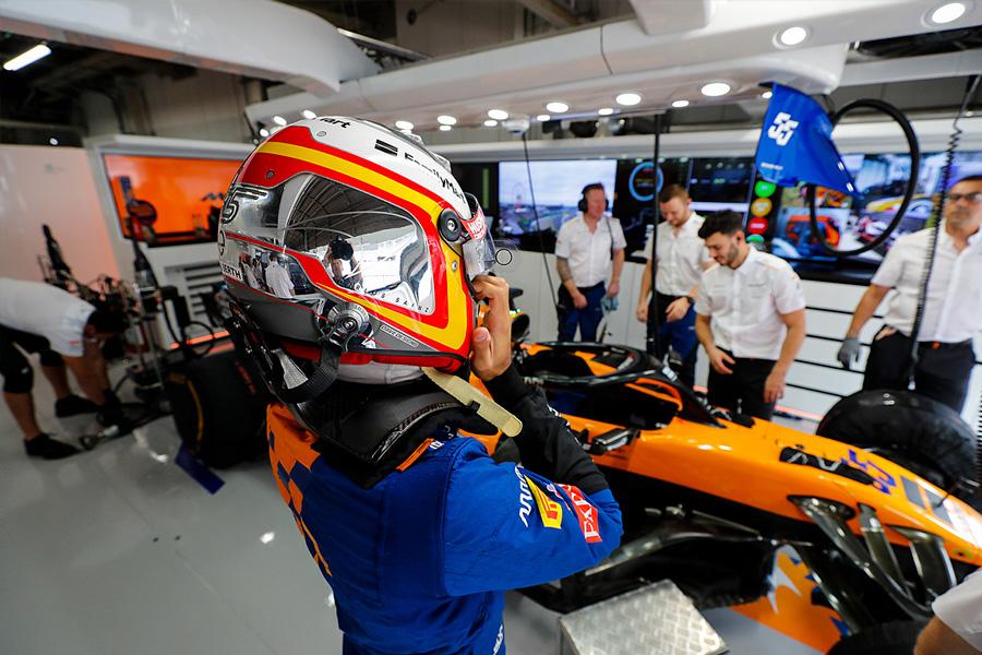 Sainz, a favor de tener Grandes Premios más cortos