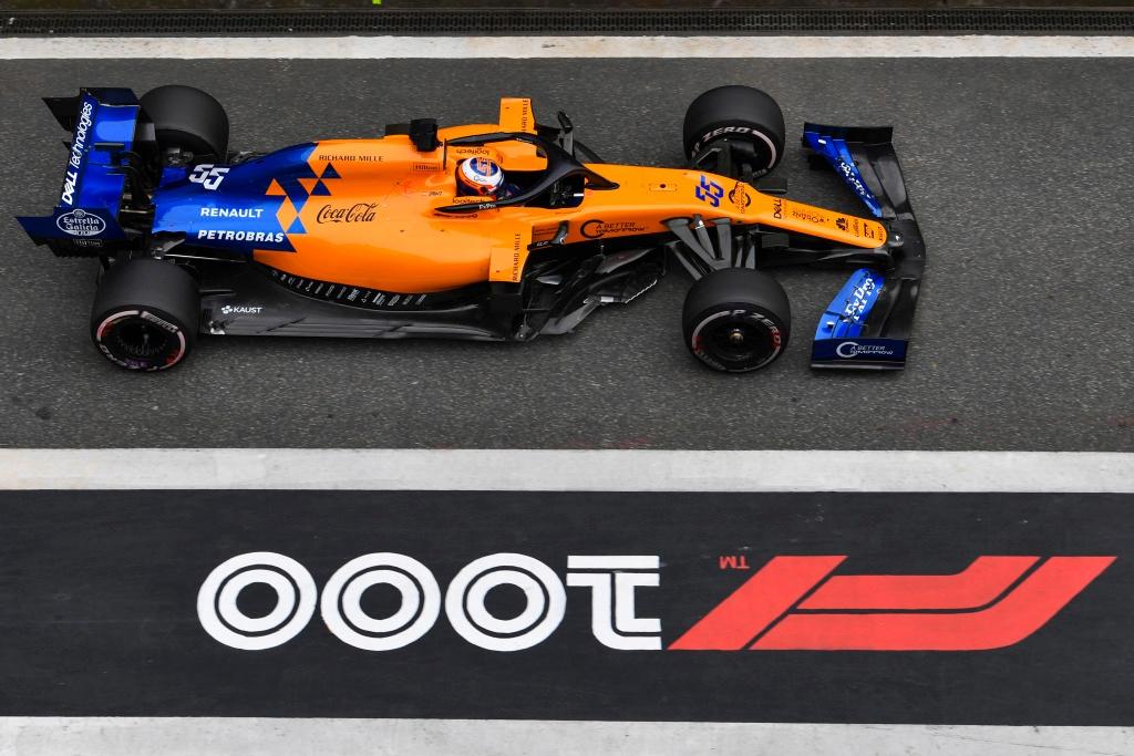 McLaren en el GP de China F1 2019: Domingo