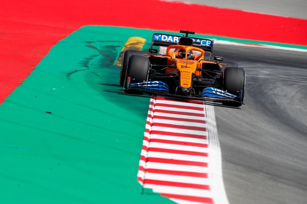 McLaren en el GP de España F1 2020: Viernes