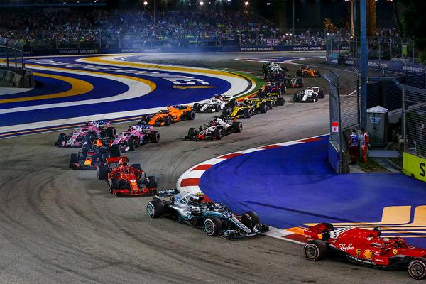 GP SINGAPUR F1 - cover