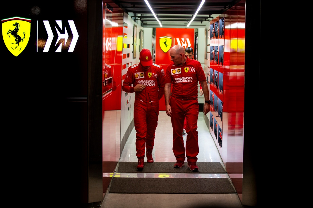 """Schumacher debuta con Ferrari: """"Me he sentido como en casa"""""""