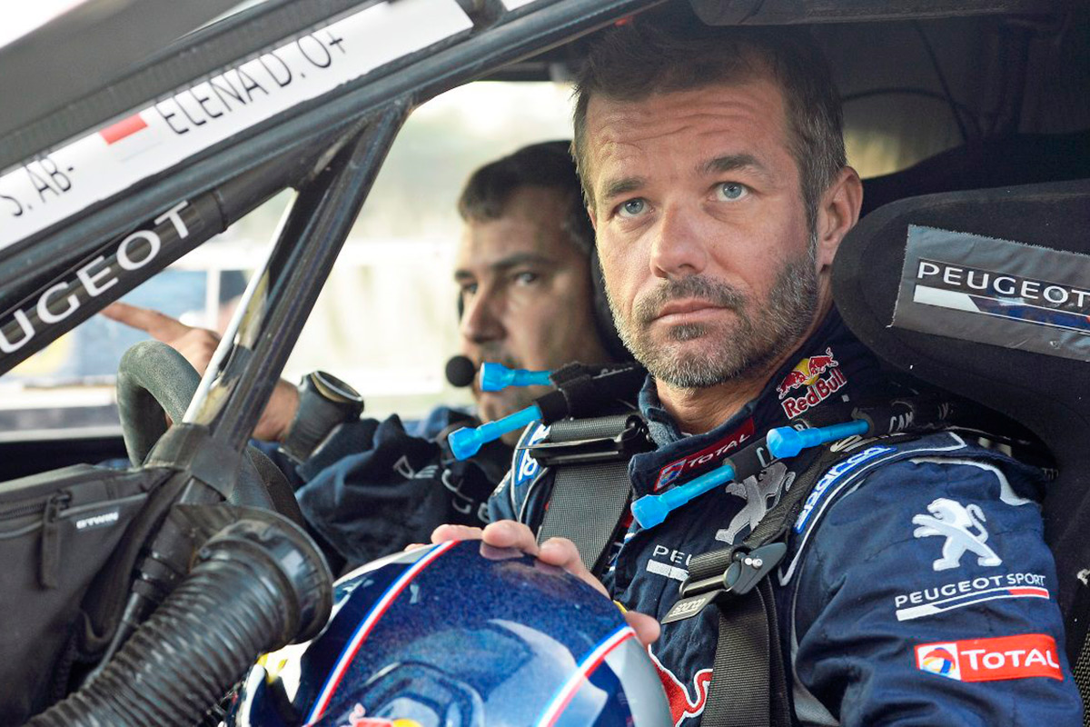 s bastien loeb correr el dakar 2019 con peugeot. Black Bedroom Furniture Sets. Home Design Ideas
