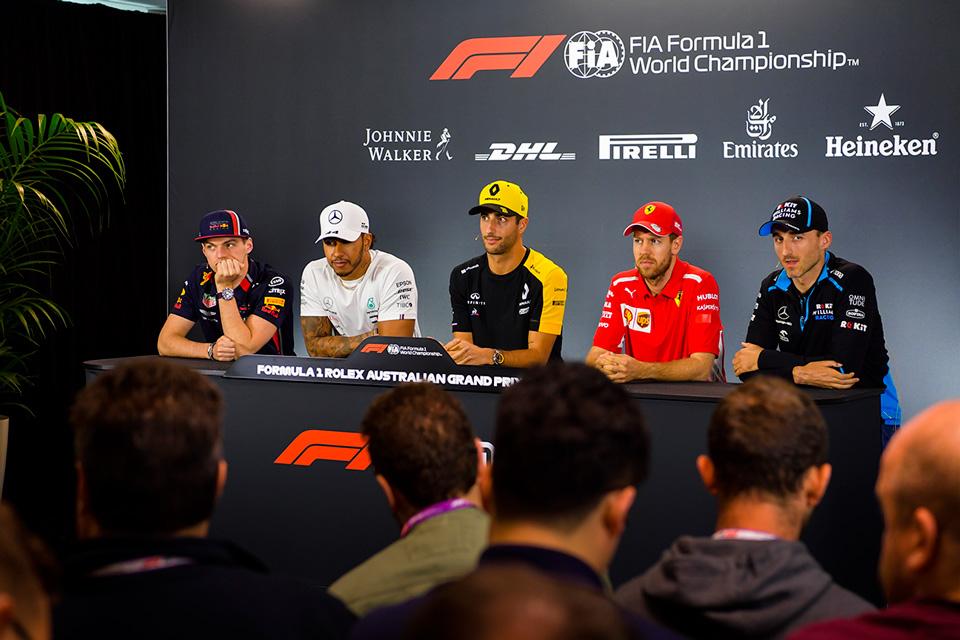 GP de Australia F1 2019: Rueda de prensa del jueves