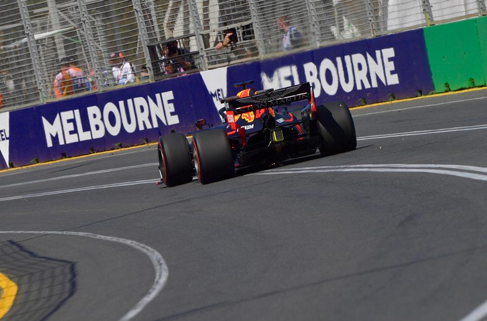 Red Bull en el GP de Australia F1 2019: Viernes