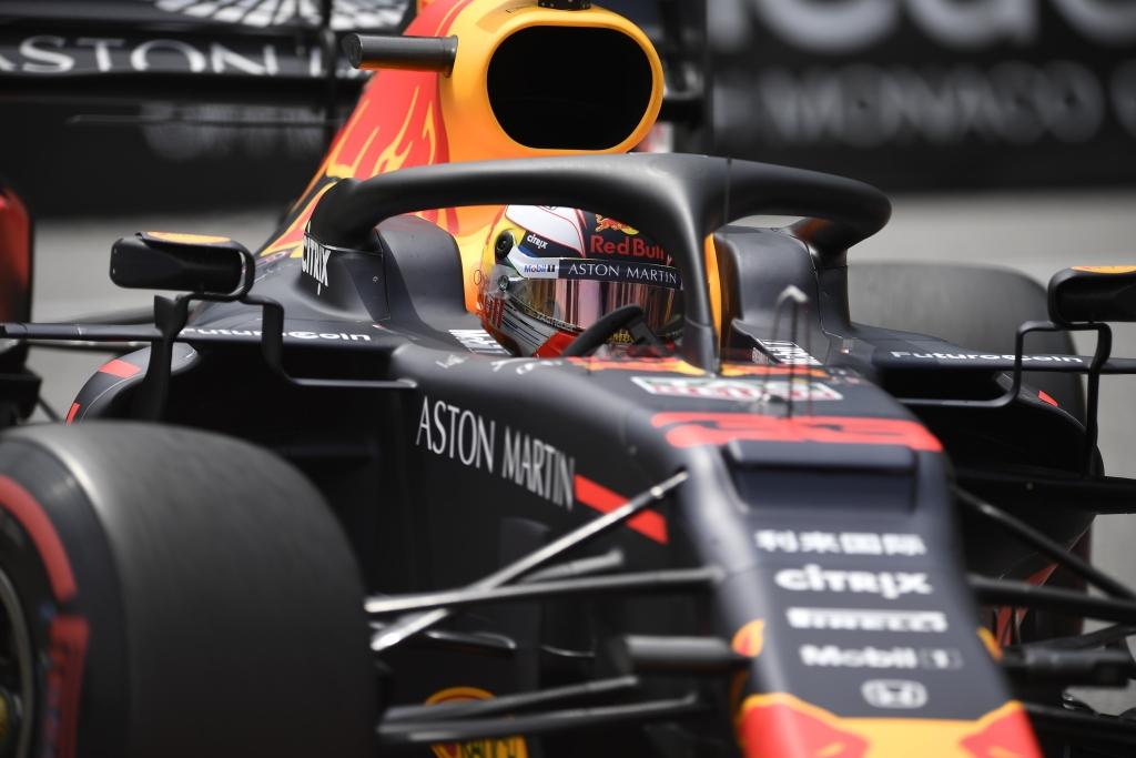 Red Bull en el GP de Mónaco F1 2019: Sábado