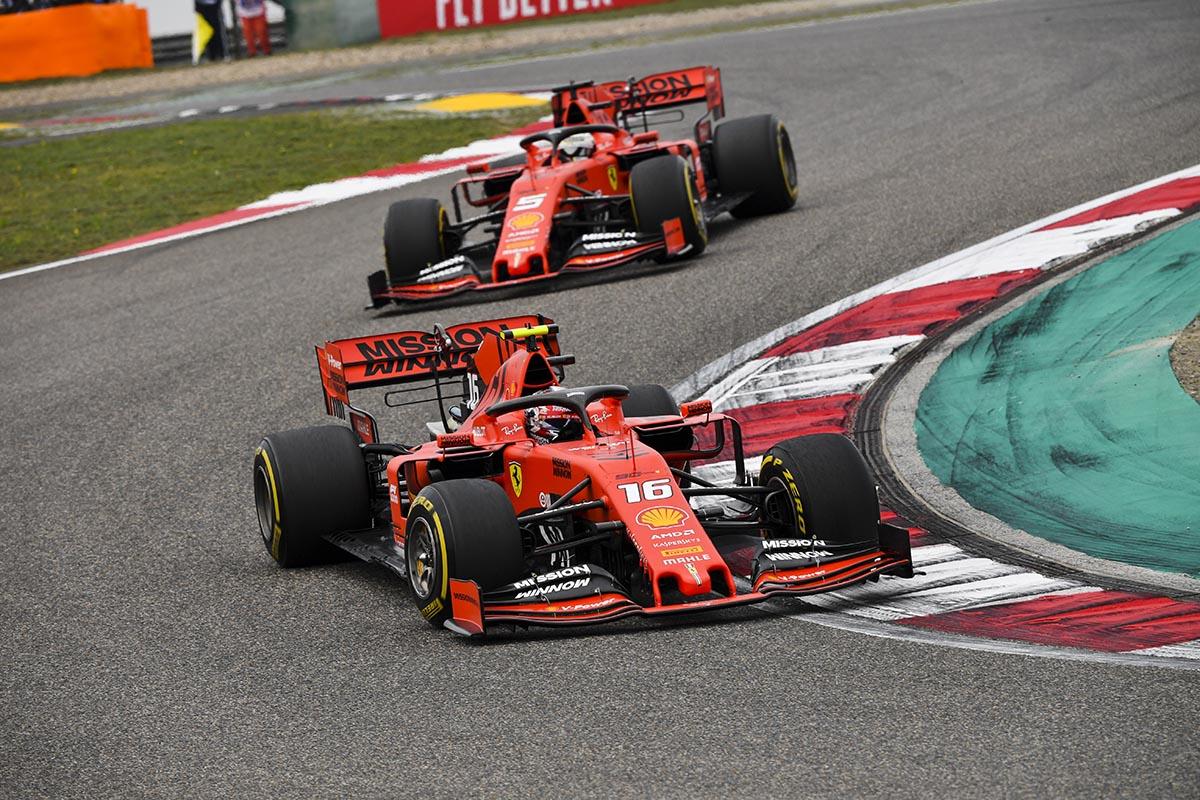 Rosberg detecta un problema aerodinámico de base en el Ferrari