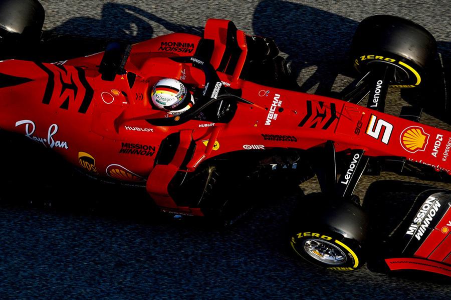 Los logos de Mission Winnow volverán a Ferrari en Baréin