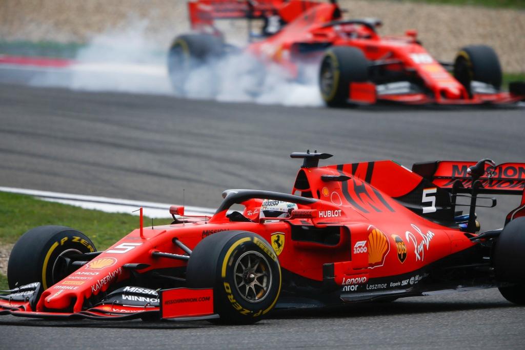 Ferrari en el GP de China F1 2019: Domingo