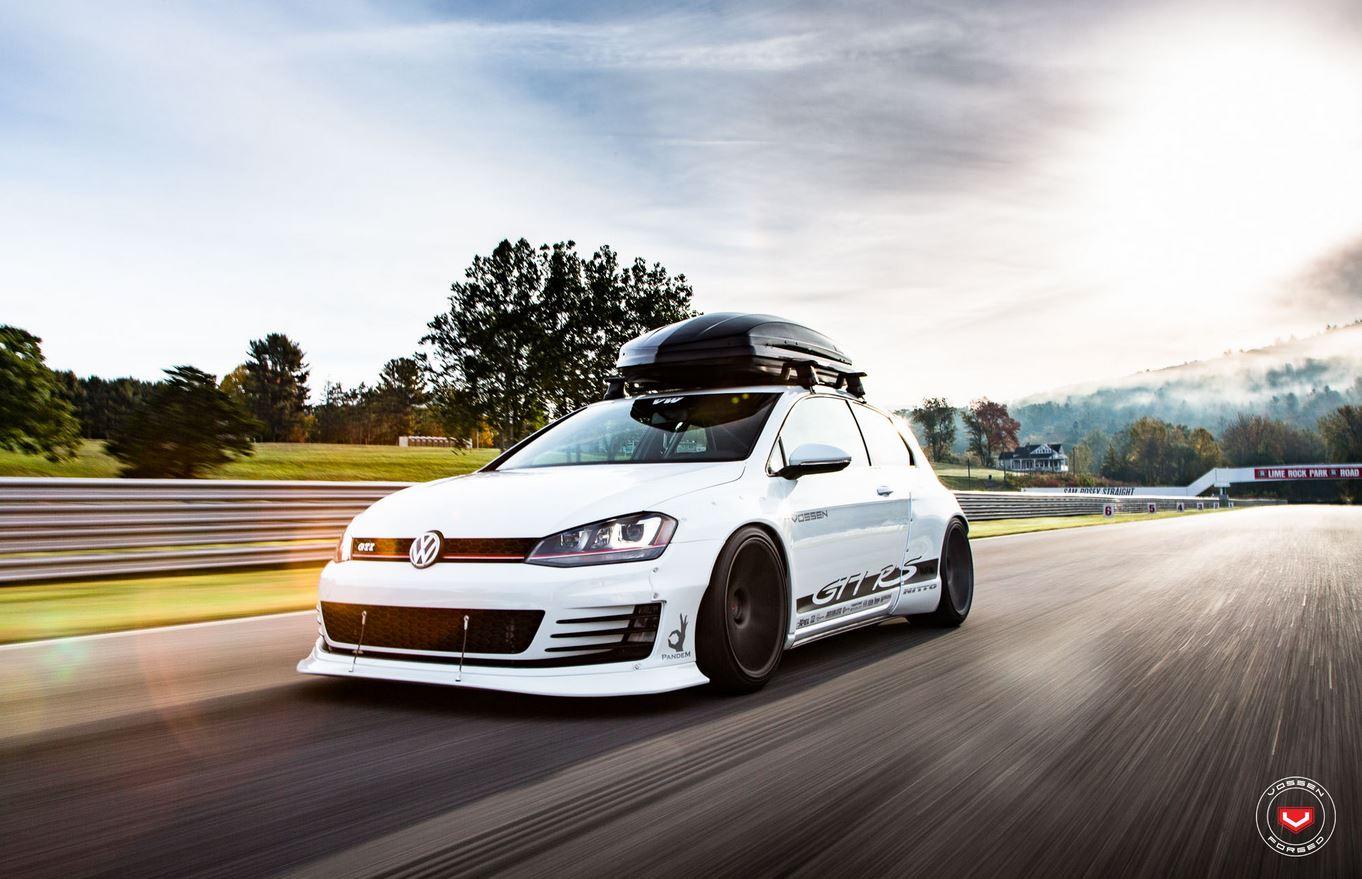 Volkswagen Golf Gti Rs Una Modificaci 243 N Con Mucho M 250 Sculo