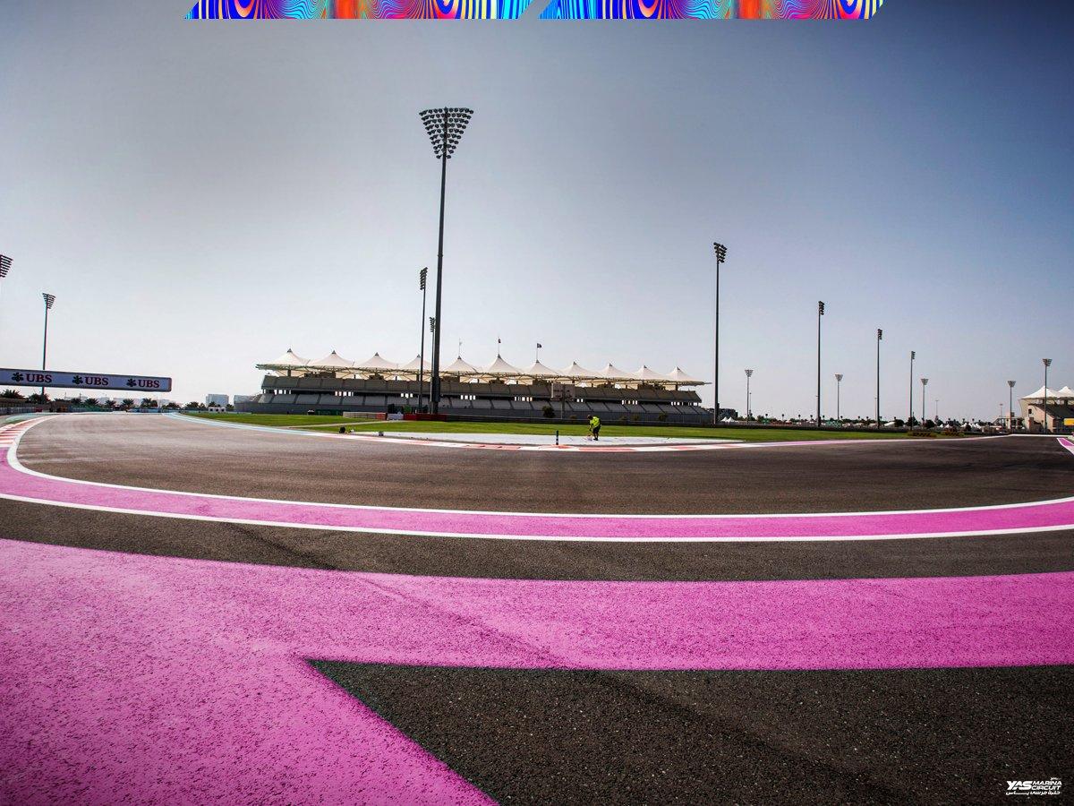 Circuito Yas Marina : Yas marina se viste de rosa para recibir en 2017 a la f1 soymotor.com
