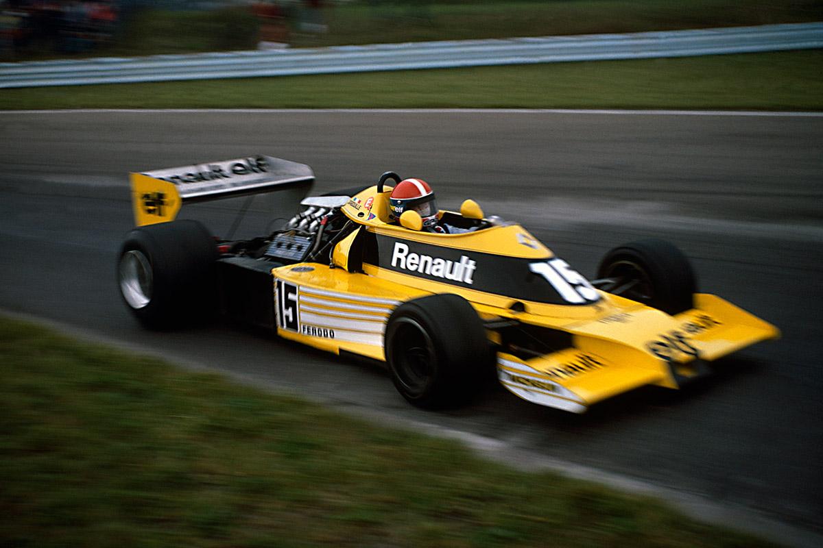 Jean-Pierre Jabouille, Renault RS01, 1977 - SoyMotor.com