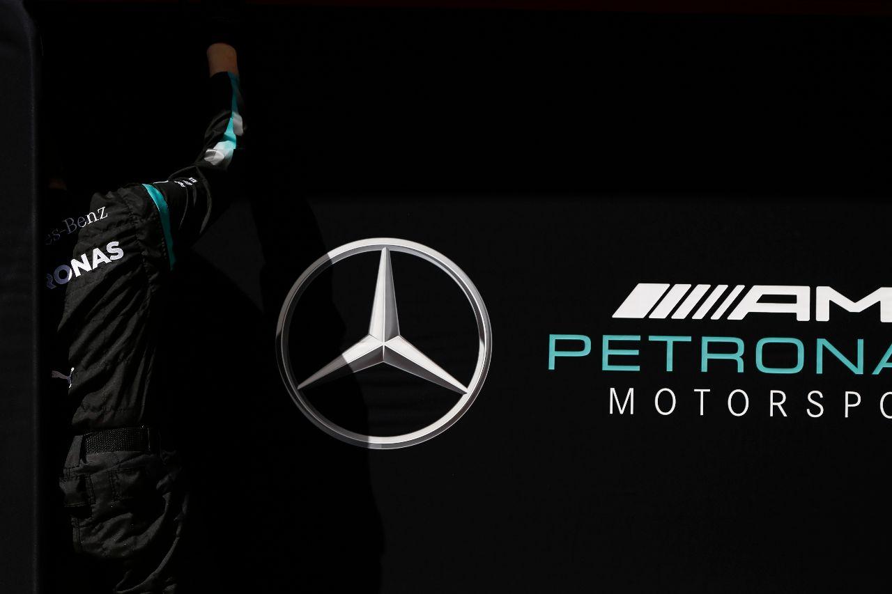 Logo del equipo Mercedes – SoyMotor.com