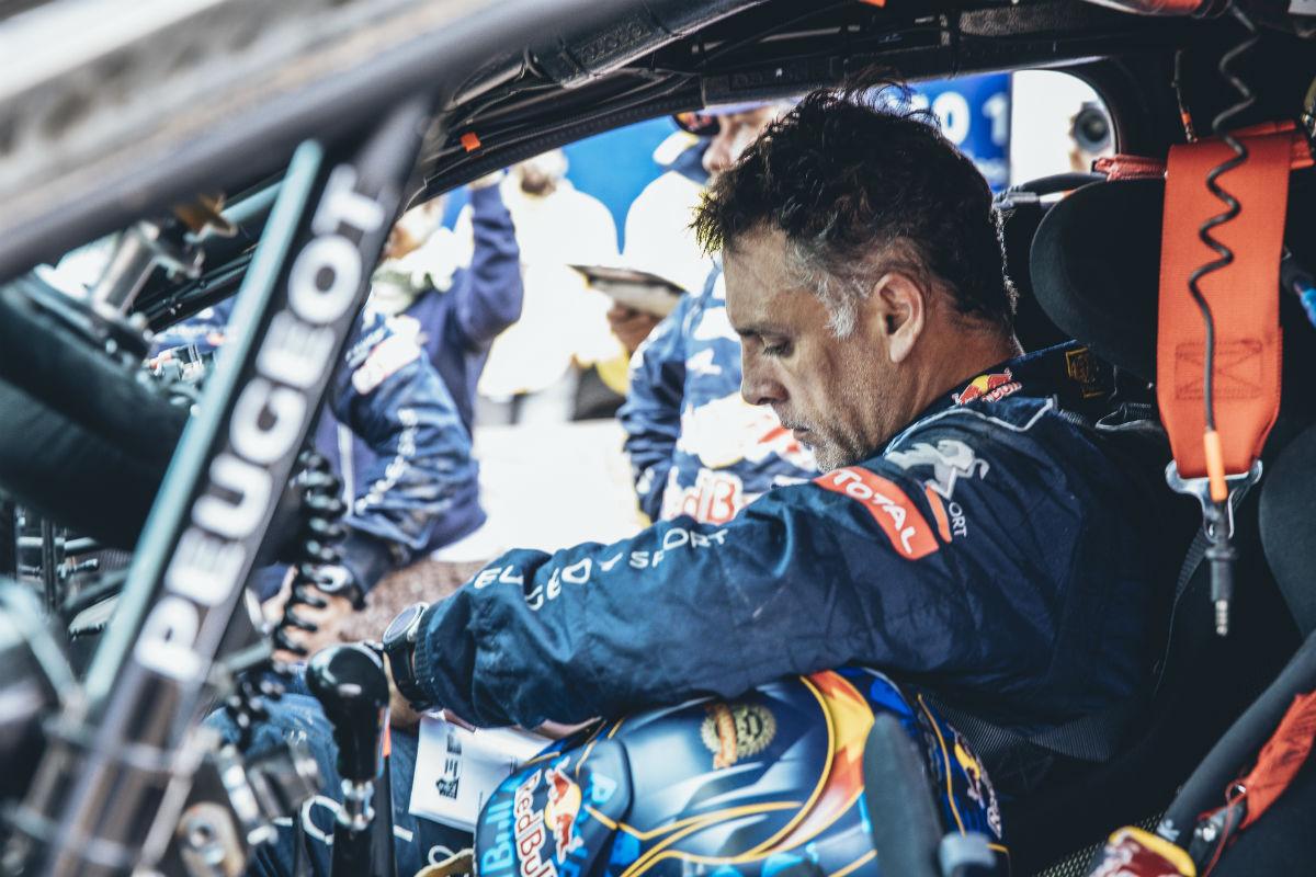 Lucas Cruz durante el Dakar 2017 - SoyMotor.com