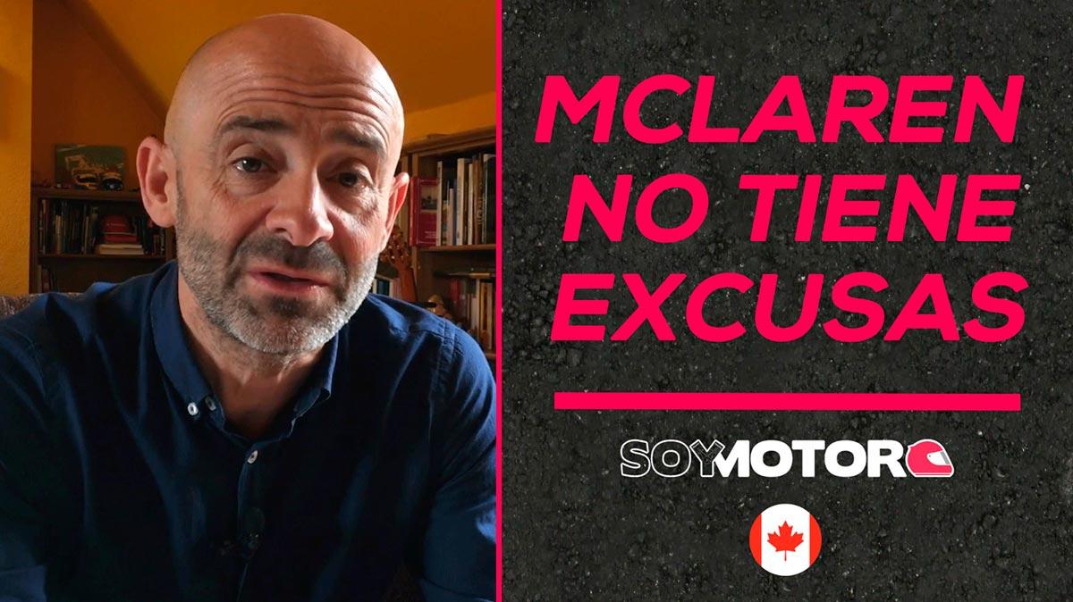 McLaren no tiene excusas - SoyMotor
