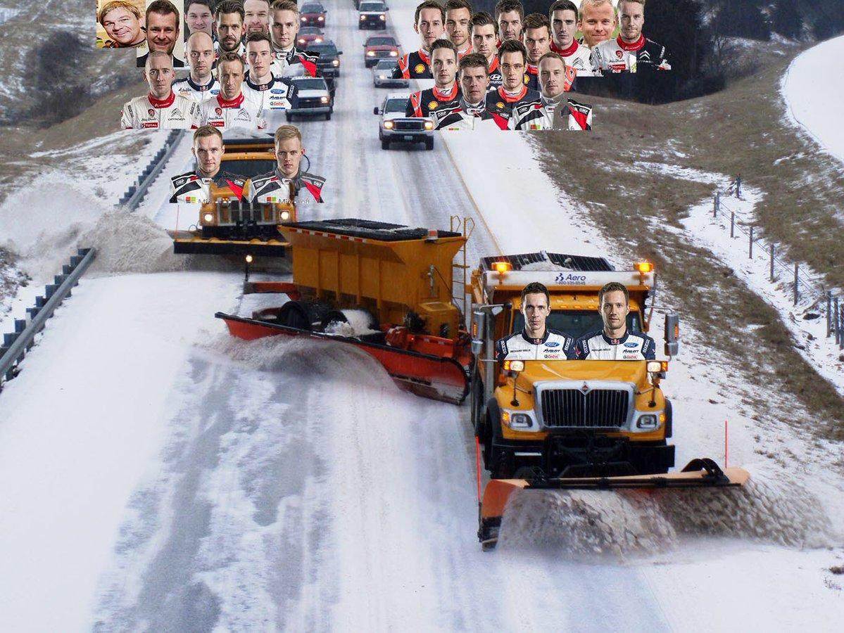 Meme sobre el Rally de Suecia - SoyMotor.com