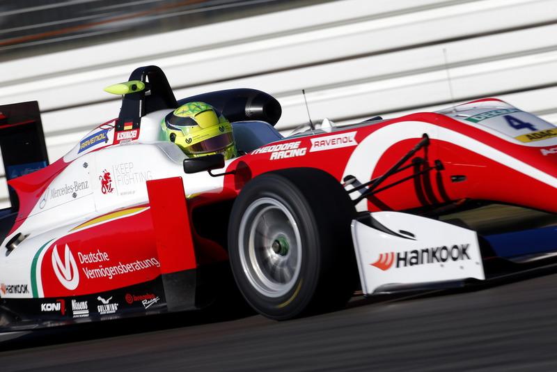 Schumacher debe coronarse campeón de la F3 Europea - SoyMotor.com
