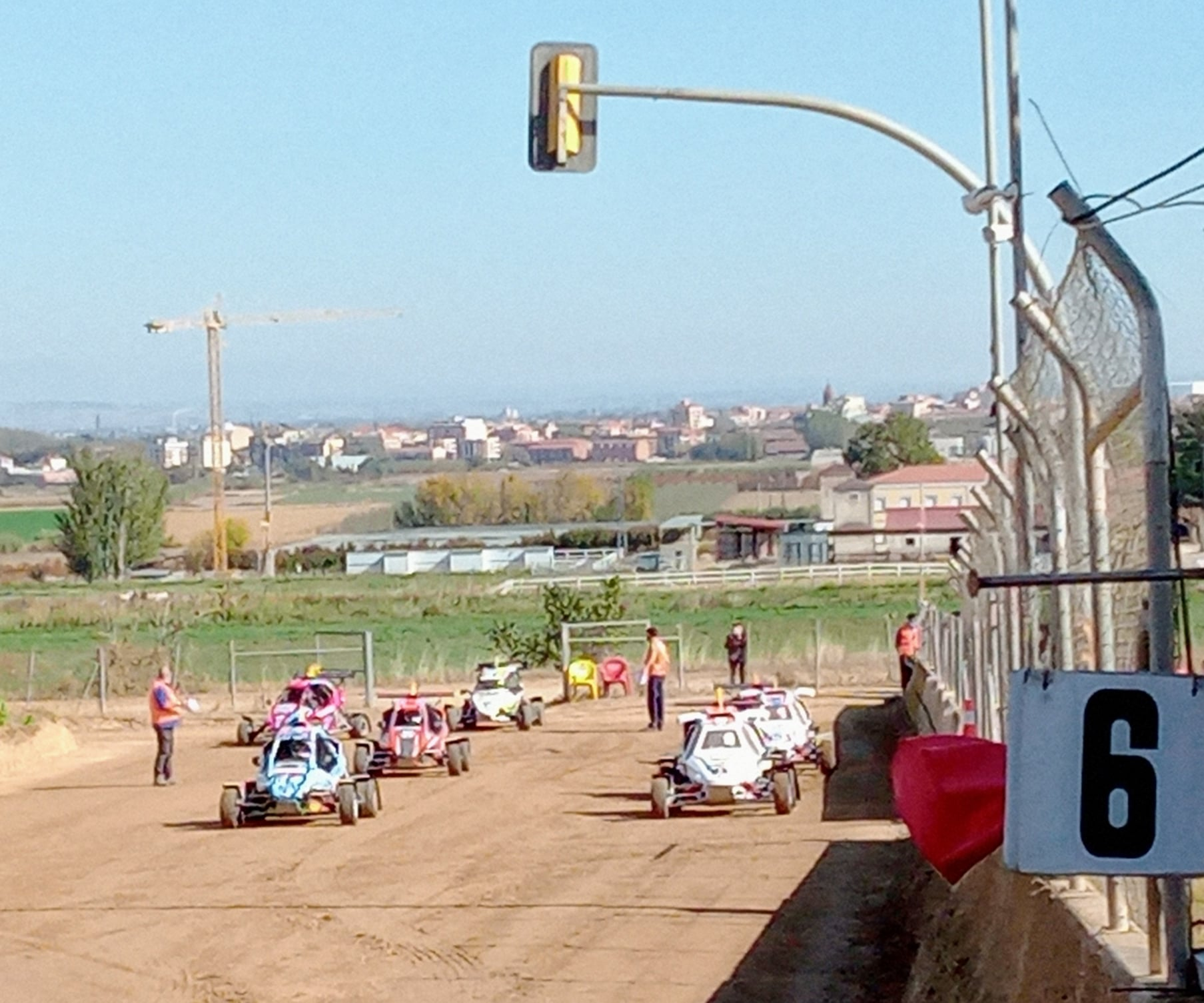 Mollerusa acogerá el Europeo de Autocross
