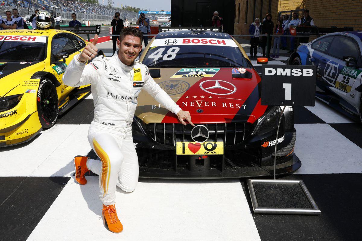 Edoardo Mortara se impone en Lausitzring - SoyMotor.com