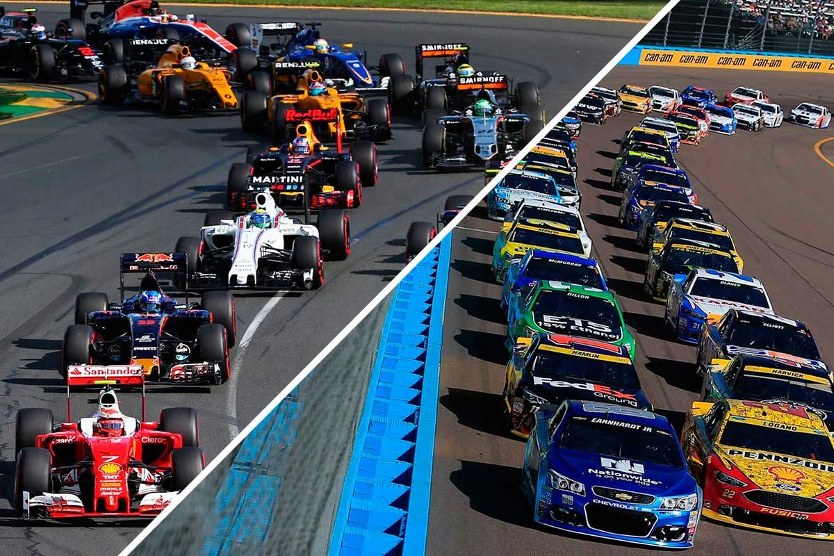 La F1 y el ejemplo del final de campeonato de la Nascar - SoyMotor.com