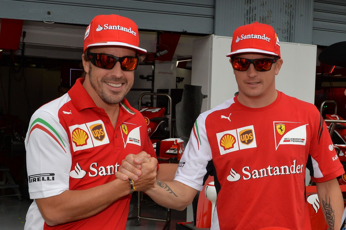 Fernando Alonso y Kimi Räikkönen - SoyMotor.com