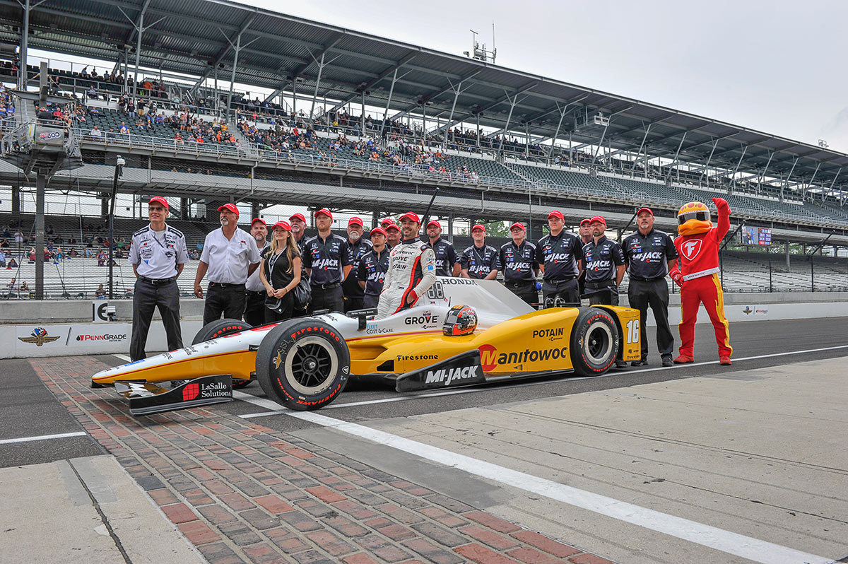 Oriol Servià y su carrera 200 de IndyCar