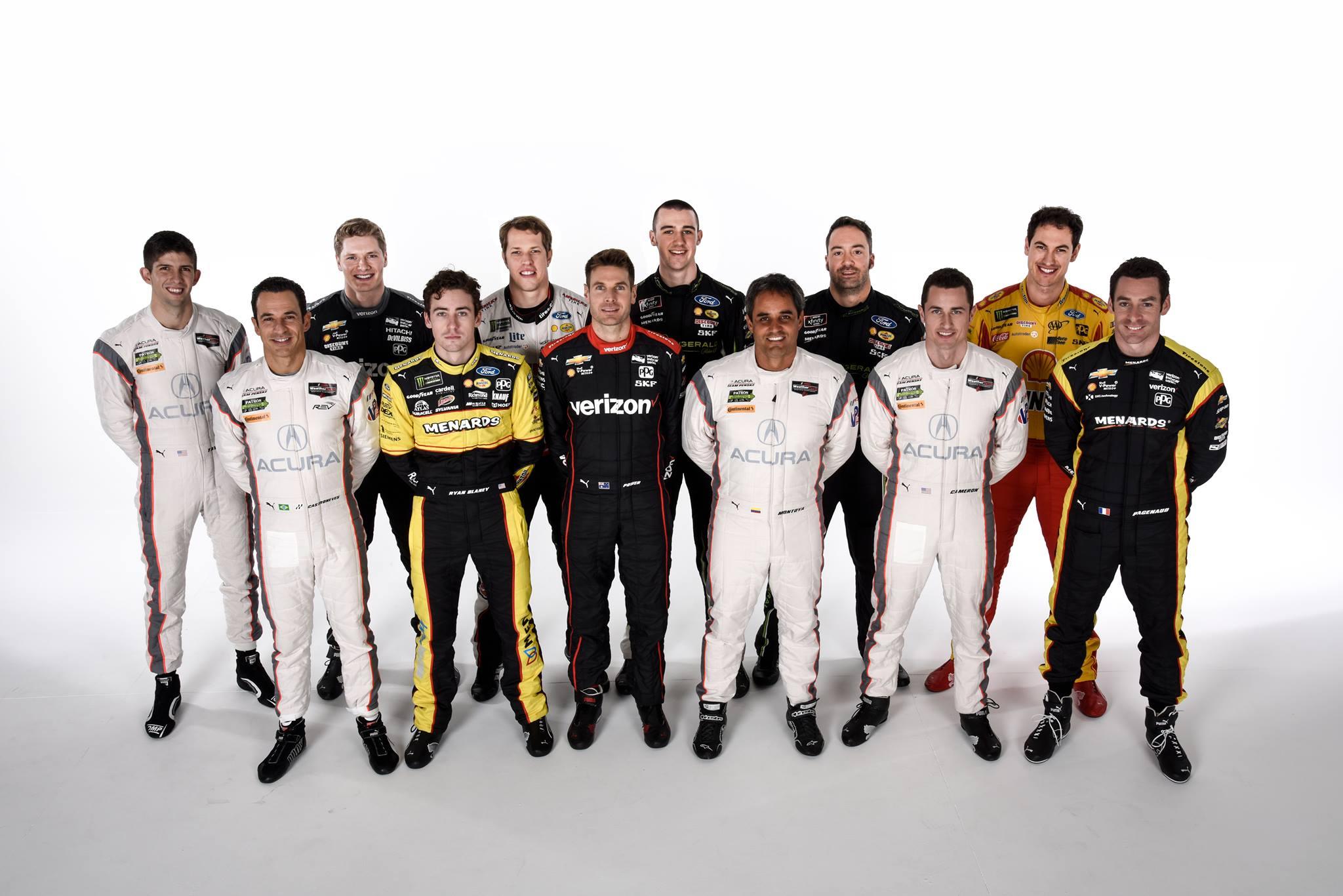 Pilotos del Team Penske - SoyMotor.com