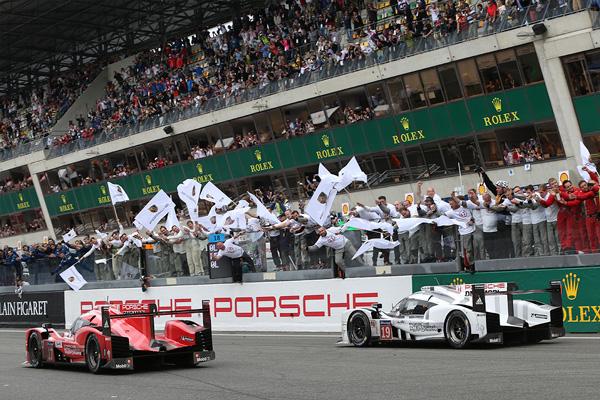 Porsche cruza la meta en las 24 horas de Le Mans 2015 - SoyMotor.com