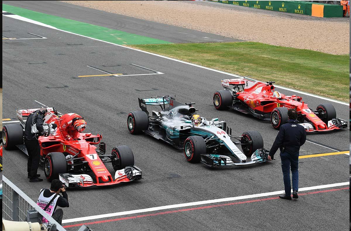 La diferencia del año: Más de medio segundo entre Hamilton y Räikkönen - SoyMotor.com