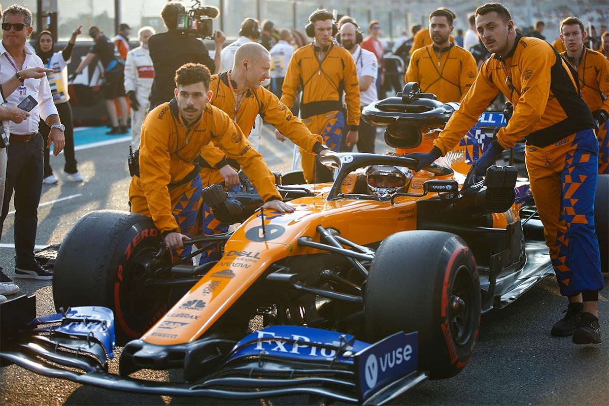 Carlos Sainz en el GP de Abu Dabi F1 2019 - SoyMotor.com