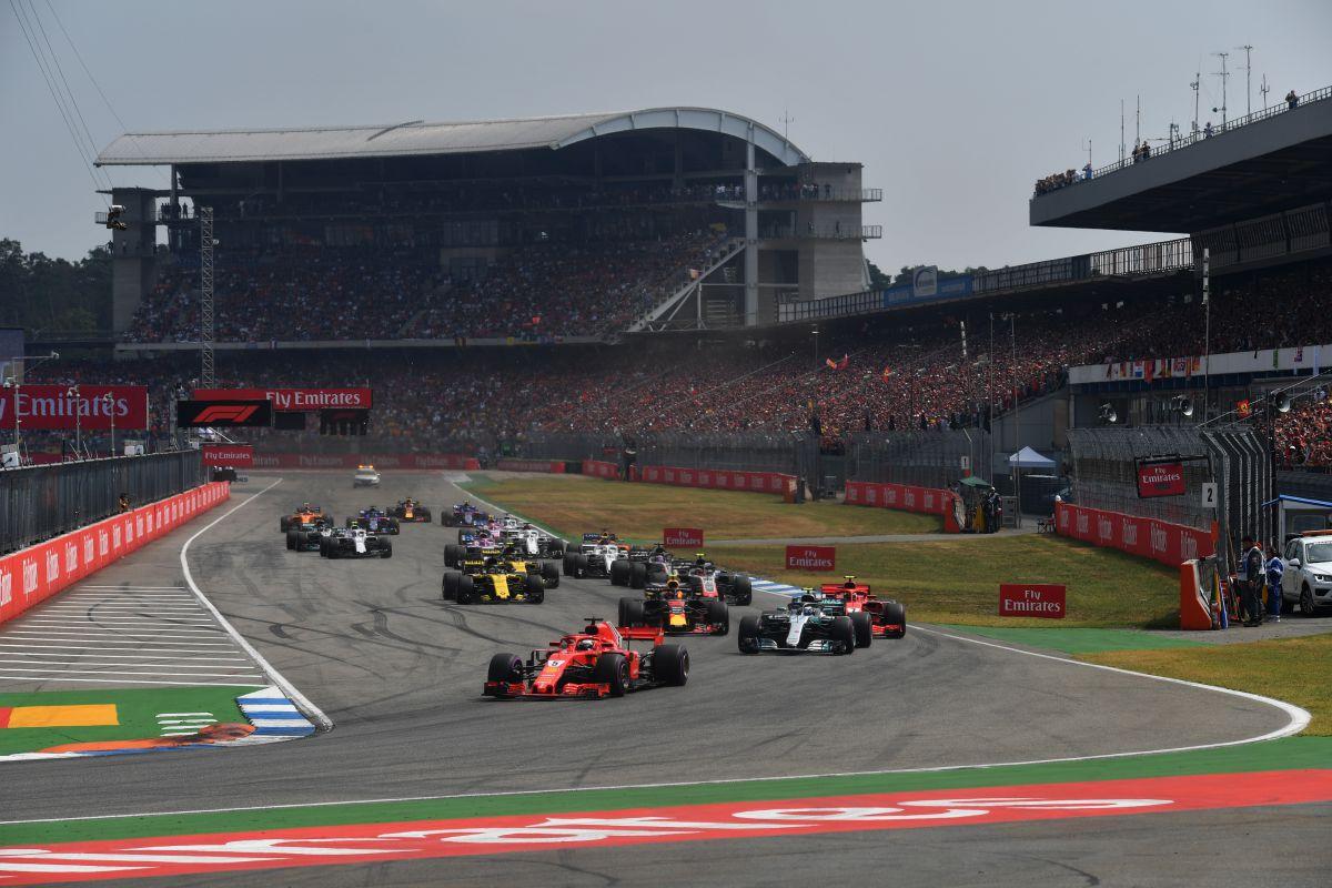 Salida del GP de Alemania 2018 - SoyMotor.com