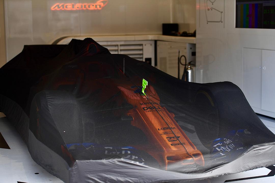 El MCL33 de Stoffel Vandoorne en Silverstone - SoyMotor.com
