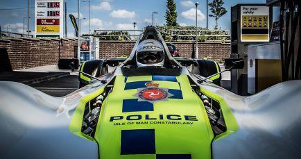 BAC Mono, la policía de la isla de Man va en monoplaza - SoyMotor.com