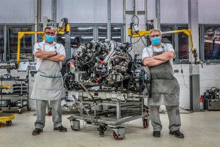 Último motor V8 de 6.75 litros de Bentley - SoyMotor.com
