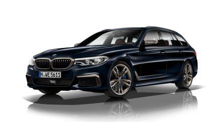 BMW M550d xDrive 2018: 400 caballos y ¡Diesel!