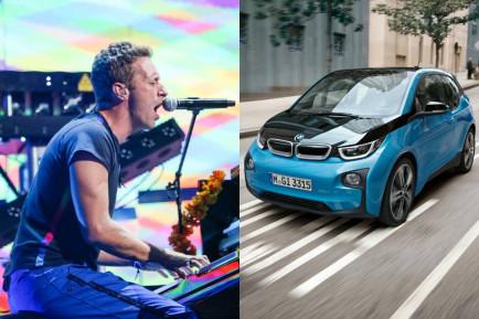 Coldplay usará baterías recicladas del BMW i3 en su próximo tour