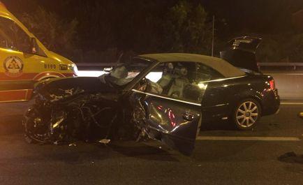 Así ha quedado uno de los vehículos implicados en el accidente provocado por este 'kamikaze' - SoyMotor