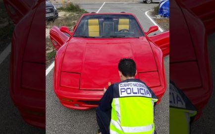 Detenido por intentar vender un Ferrari falsificado - SoyMotor