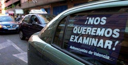 Quejas en las autoescuelas de Valencia por la huelga – SoyMotor.com