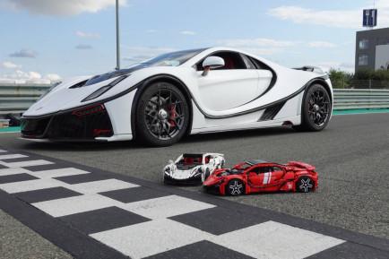 El GTA Spano se convierte en el coche de Lego más rápido del mundo