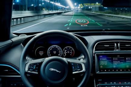 Jaguar Land Rover: los nuevos Head-Up Display, en 3D - SoyMotor.com