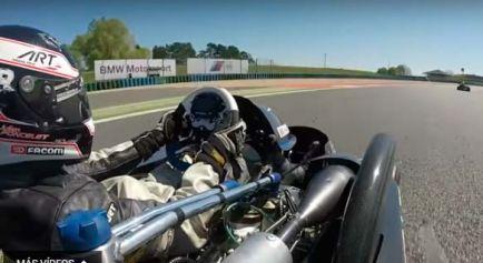 Así de rápido es un Supertkart en el circuito de Magny-Cours - SoyMotor.com