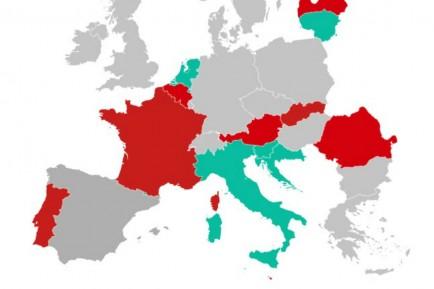 Consulta el estado de las fronteras europeas a causa de la Covid-19 - SoyMotor.com