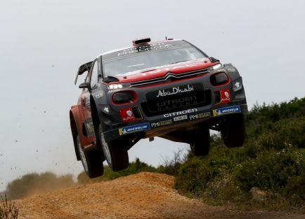 Mads Østberg en el Rally de Italia 2018 - SoyMotor.com