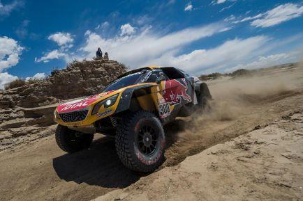 Stephane Peterhansel, hoy en el Rally Dakar - SoyMotor